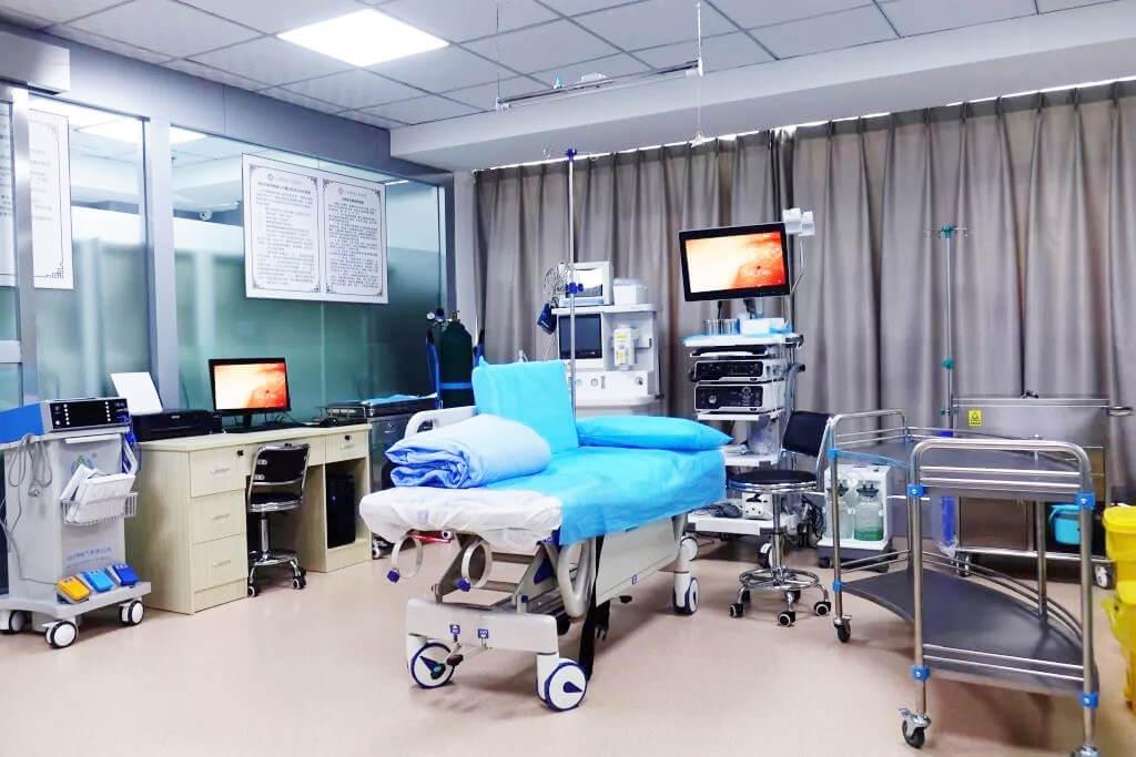 云南省老干部医院体检中心无痛胃镜检查设备